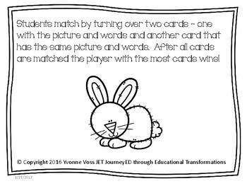 Concentration Rabbits