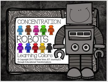 Concentration Robots Learning Colors