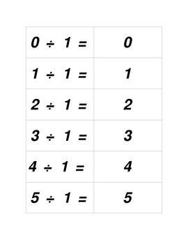 Concentration Sets for Dividing 1 thru 10