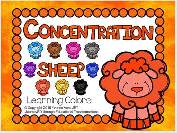 Concentration Sheep Learning Colors