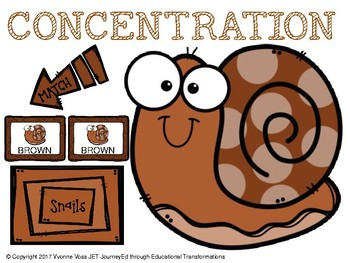 Concentration Snails