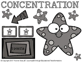 Concentration Starfish
