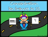 Concentration Ten Frames to 10