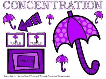 Concentration Umbrellas