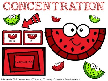 Concentration Watermelon