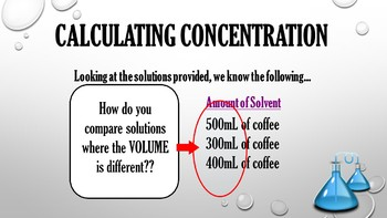 Concentrations and Solubility
