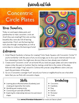 Concentric Circle Plates