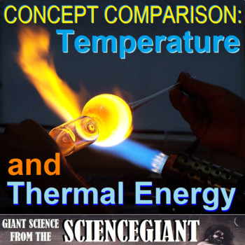Concept Comparison: Temperature vs Thermal Energy