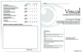 Concept & Design Project Packet