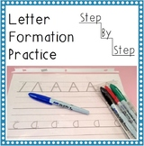 Step-by-Step Letter Formation Practice *Printable* upper a