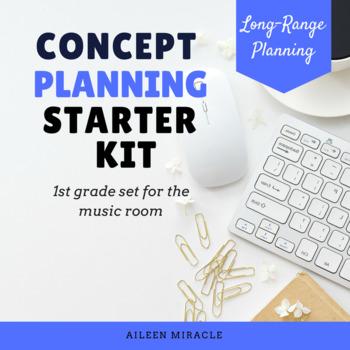 Concept Plan Starter Pack: First Grade