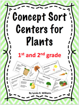 Concept Sort Centers on Plants for Literacy