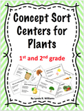 Concept Sort Centers on Plants for Literacy and Science