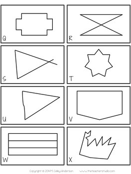 Math Concept Sorts:  5 Geometry Sorts for Third Grade, Fourth Grade, Fifth Grade