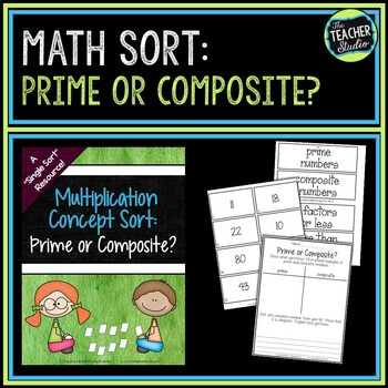 Concept Sorts:  A Single Sort Resource for Prime and Composite Numbers