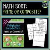 Prime and Composite Numbers: A Math Sort