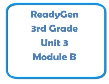Concept board ReadyGen Unit 3 module B poster