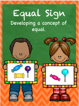 Concept of Equal FREEBIE - equal PPT and flashcards