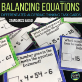 "Concept of ""Equals"" Algebraic Thinking Task Cards: Grades 3-5"