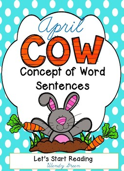 Concept of Word April Sentences