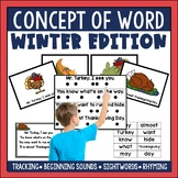 Concept of Word Poetry: Winter Edition