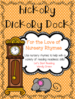 Concept of Word Hickory Dickory Dock