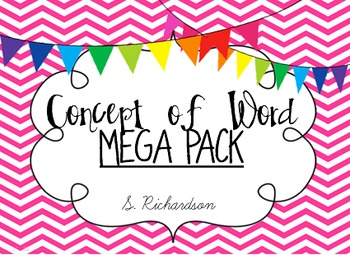 Concept of Word Instructional MEGA PACK