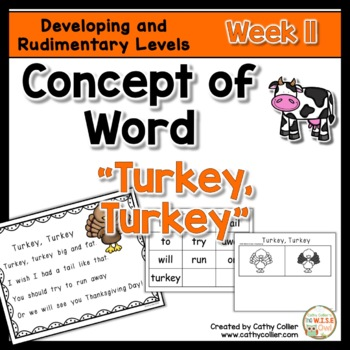 Concept of Word Intervention:  Week 11