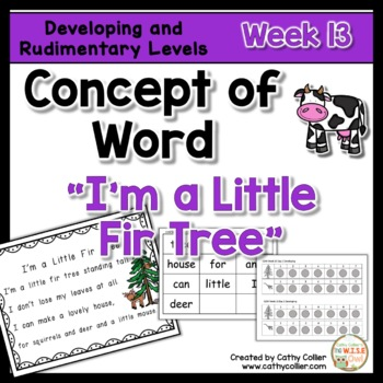 Concept of Word Intervention:  Week 13