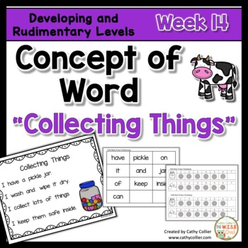 Concept of Word Intervention:  Week 14