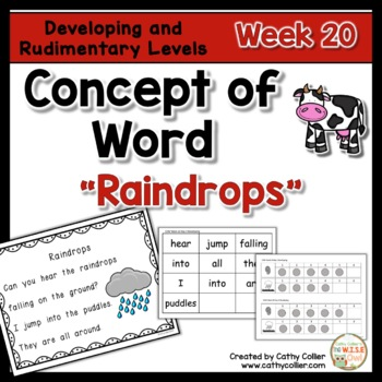 Concept of Word Intervention:  Week 20