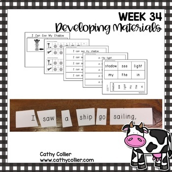 Concept of Word Intervention: Week 34