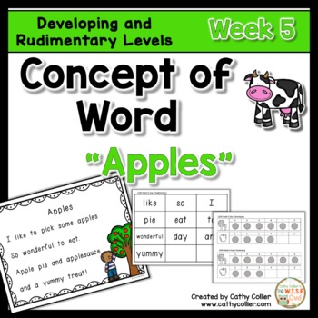 Concept of Word Intervention:  Week 5