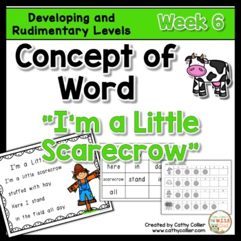 Concept of Word Intervention:  Week 6