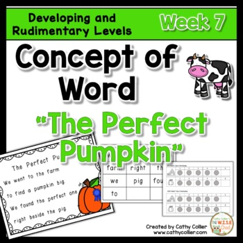 Concept of Word Intervention:  Week 7