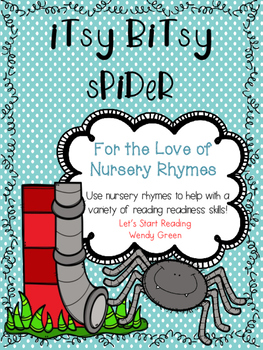 Concept of Word Itsy Bitsy Spider