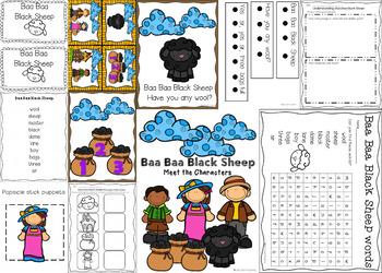 Concept of Word Nursery Rhyme Bundle