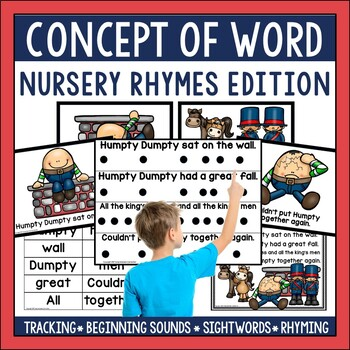 Concept of Word Poetry: Nursery Rhymes Edition