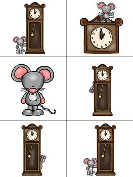 Concept of Word with Nursery Rhymes - Hickory Dickory Dock