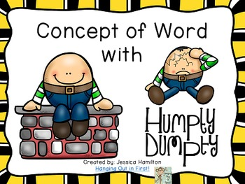 Concept of Word with Nursery Rhymes - Humpty Dumpty