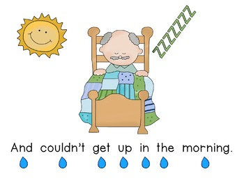 Concept of Word with Nursery Rhymes - It's Raining, It's Pouring