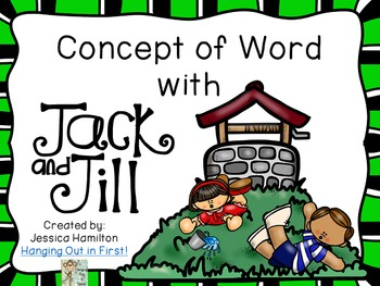 Concept of Word with Nursery Rhymes - Jack and Jill