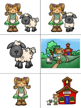 Concept of Word with Nursery Rhymes - Mary Had a Little Lamb