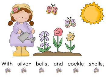 Concept of Word with Nursery Rhymes - Mary, Mary Quite Contrary