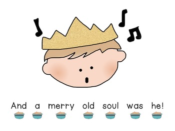 Concept of Word with Nursery Rhymes - Old King Cole