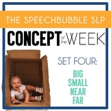 Concept of the Week: SET 4 - BIG, SMALL, NEAR, FAR