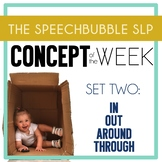 Concept of the Week: Set 2 - IN, OUT, AROUND, THROUGH