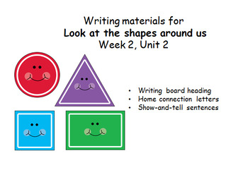 Concept question board material for Wonders Reading Program Unit 2, Week 2