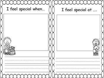 Concept question board student journals for the Wonders grade-k smart start.