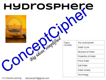 ConceptCipher- Hydrosphere